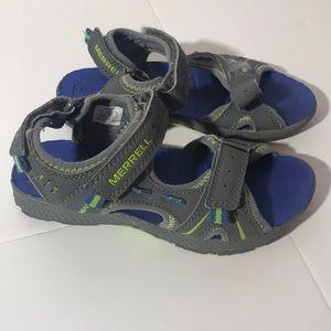 Merrell kids panther sandals sz 1m